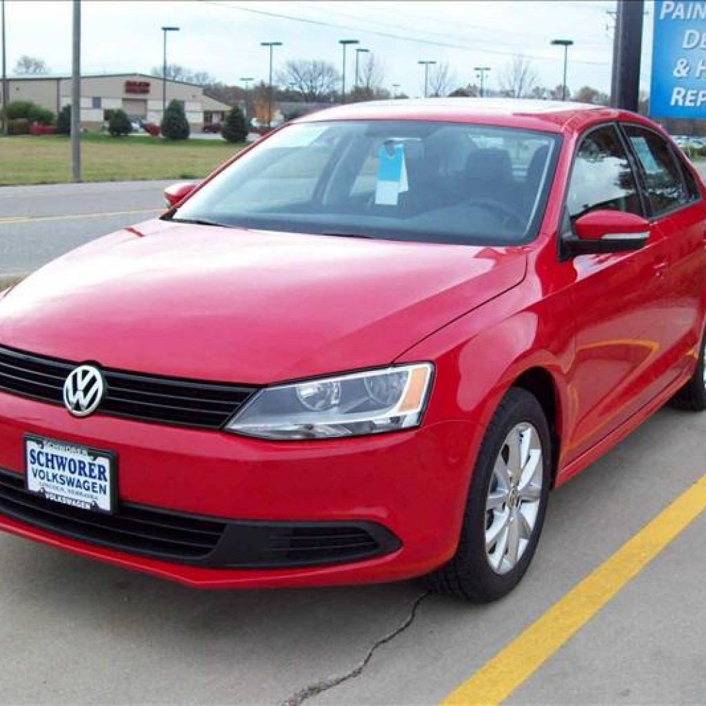 After Repaired 2012 Jetta