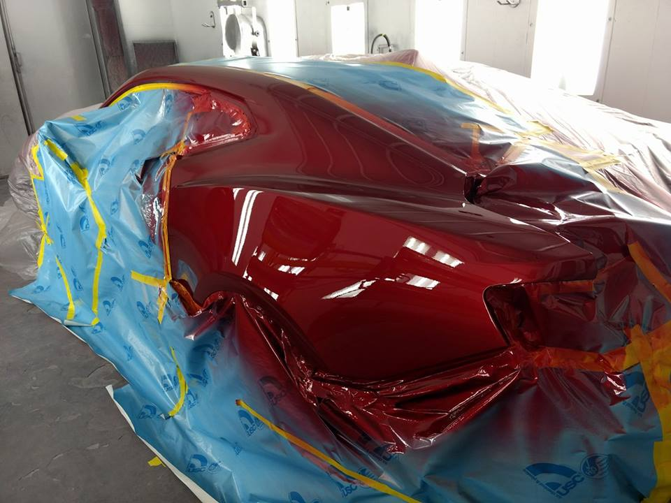 camero - being repainted