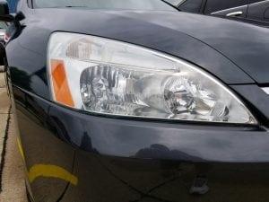 Headlight Restoration - After