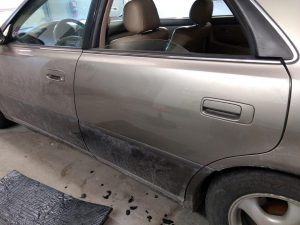 Paintless Dent Removal - After